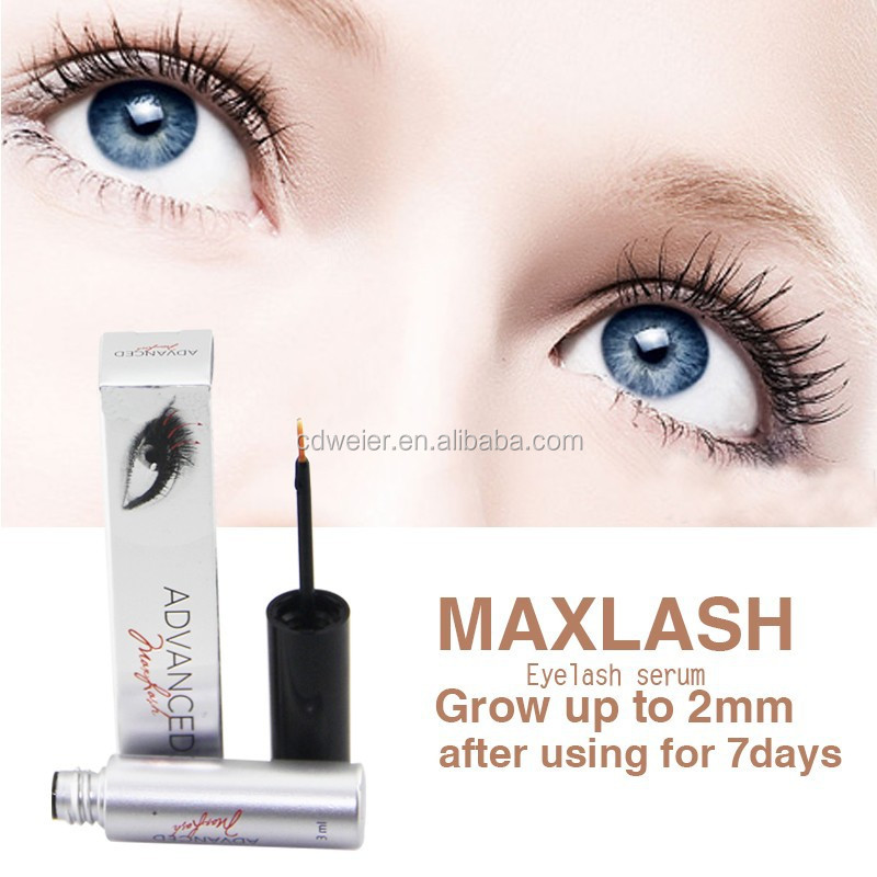 MAXLASH Natural Eyelash Growth Serum (snowflake false color eyelash box)