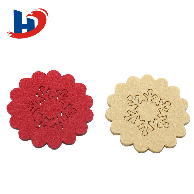 decoration gifts with flower felt crafts
