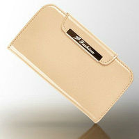 New 2013 hot selling high quality fashion elegant design flip luxury patent leather purse case for samsung galaxy s3
