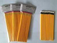 HB pencil with eraser top