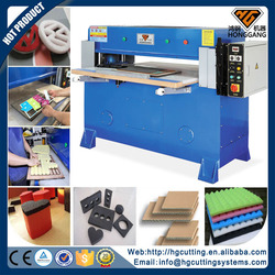 precision hydraulic paper/leather/foam/eva press cutting machine