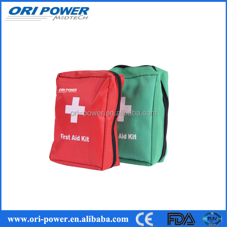 OP manufacturer CE FDA ISO approved small practical first aid kit for car