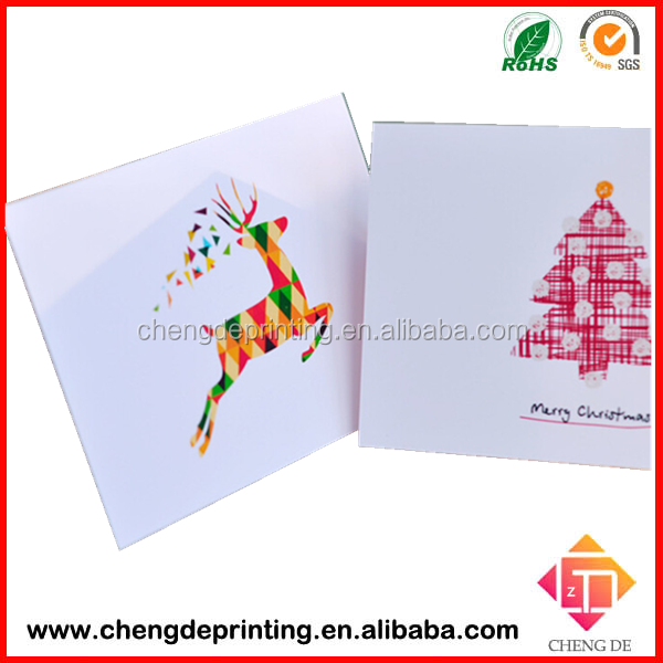 2015 Hot sale handmade religious christmas cards