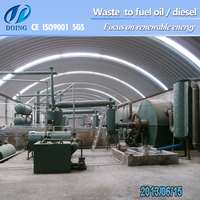 waste tire furnace machine for fuel oil production