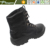 Black Full Genuine leather mesh upper military man Safety hunting boots