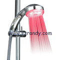 LD8008-A19 Single Color led handle shower ganesh gifts without battery