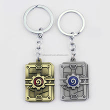 Game Hearthstone Heroes of Warcraft Metal Pendant Keychain