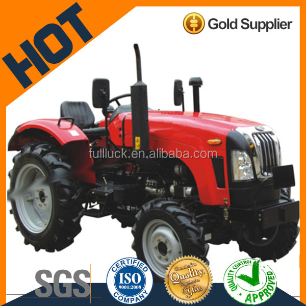 SW354 4 wheel drive tractor with front loader wheeled tractors for sale seewon 4WD OEM