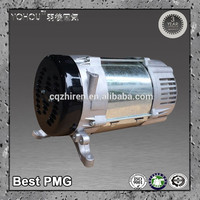 High efficiency 100KW 3 phase brushless hydro alternator