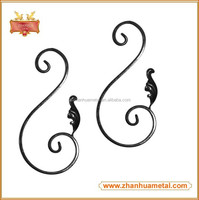 Fence Wrought Iron Balcony Railing Scroll