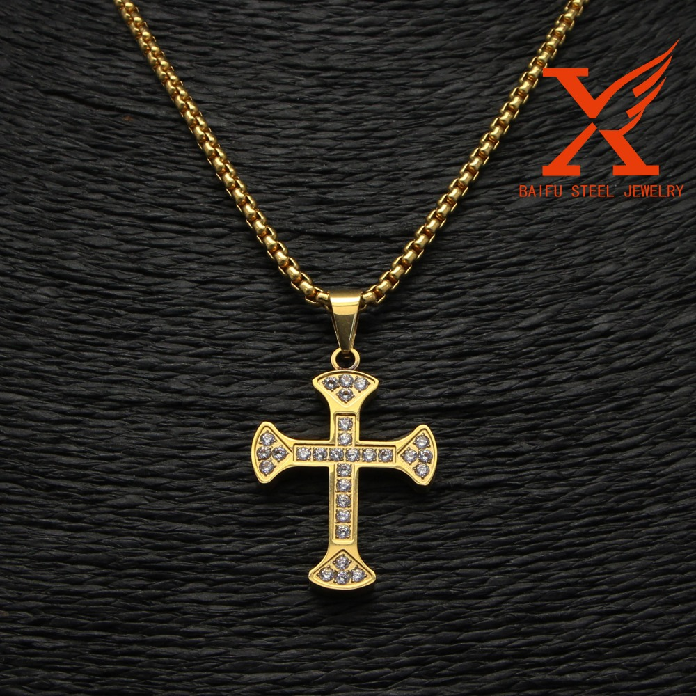 Quality And Quantity Assured 2016 Top Selling Small CNC Setting CZ Cross,Cheap Cross Charms,Wholesale Cross Pendants
