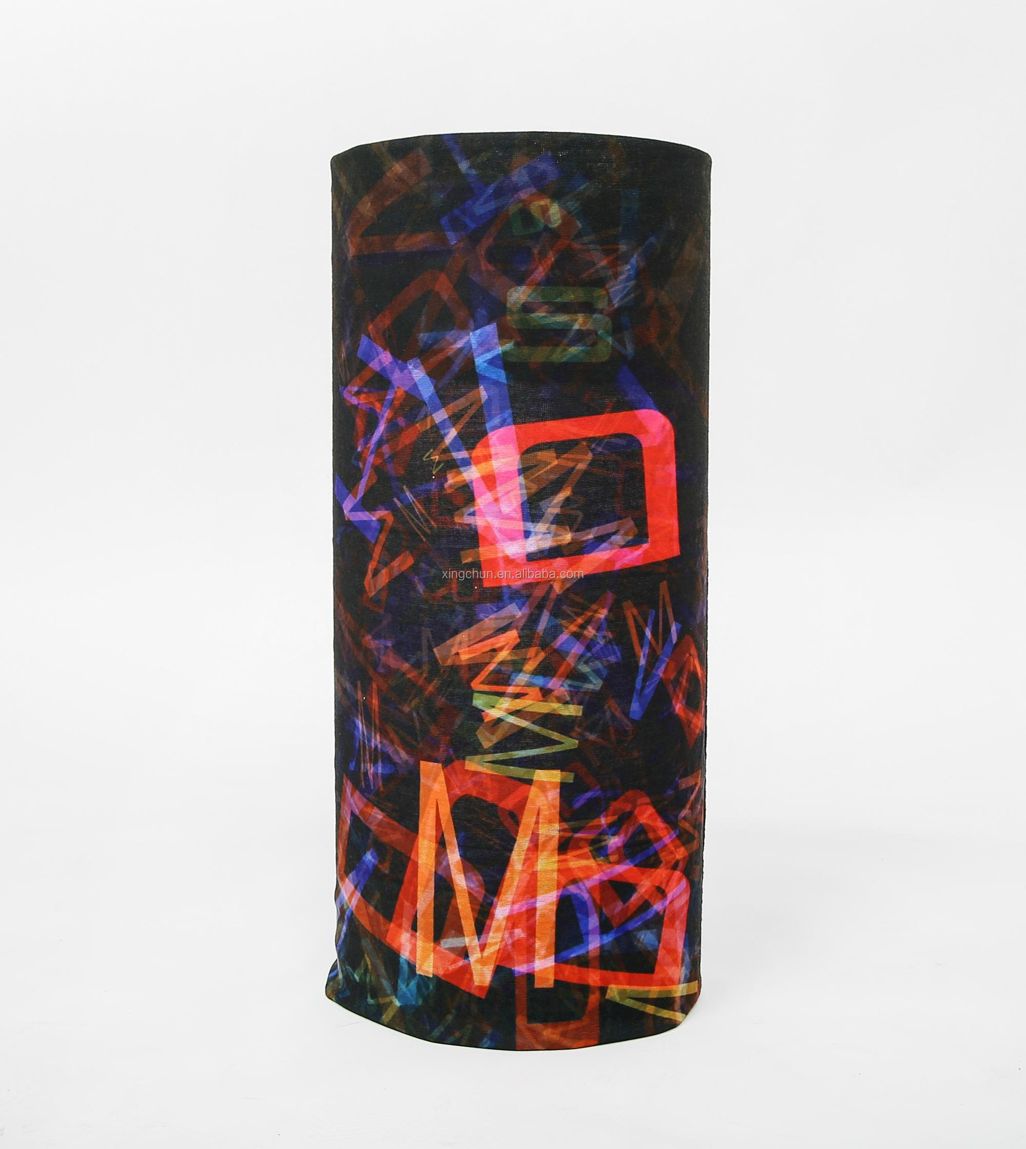 Multifunctional Tube Headwear Heat Transfer Printing