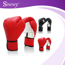 Imitation Leather Boxing Training Gloves, fitness gym boxing equipments gear supplies
