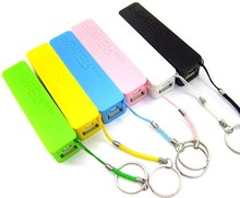 Portable mobile power supply/ wholesale power bank 2600mAh / Mini rechargeable battery charger