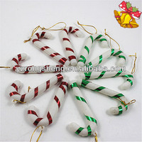 colourful plastic crutches christmas tree decoration