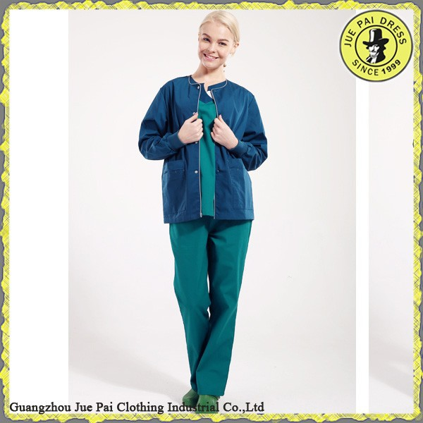 2016 Latest Design nurse hospital uniform Jacket