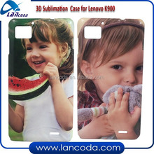Lancoda NEW 3D sublimation phone cover for Lenovo K900,3d sublimation phone case,sublimation mobile cover