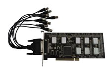 Software Compression 8 Channels video capture card vga input
