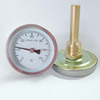 Industrial Bimetal Bolier Thermometer With Sheath