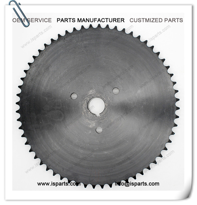 Machine Transmission Parts Live Axle 420 Chain Drive Sprocket 60T
