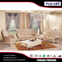 luxury bisini furniture with single seater leather sofa from Foshan