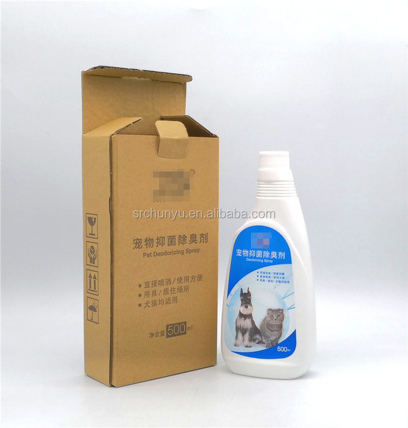 OEM 500ML Premium Natural Dog & Cat Deodorizer Spray, Scented Pets Air Freshener Spray