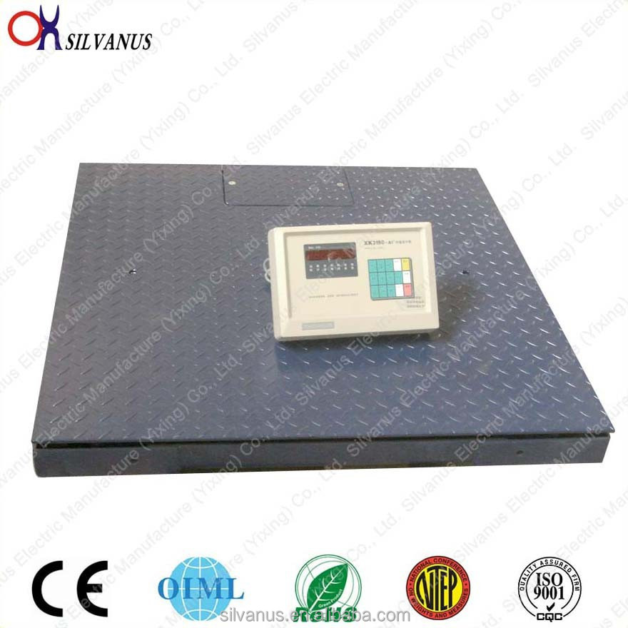 1tHigh Quality industrial electronic digital weighing platform loadometer