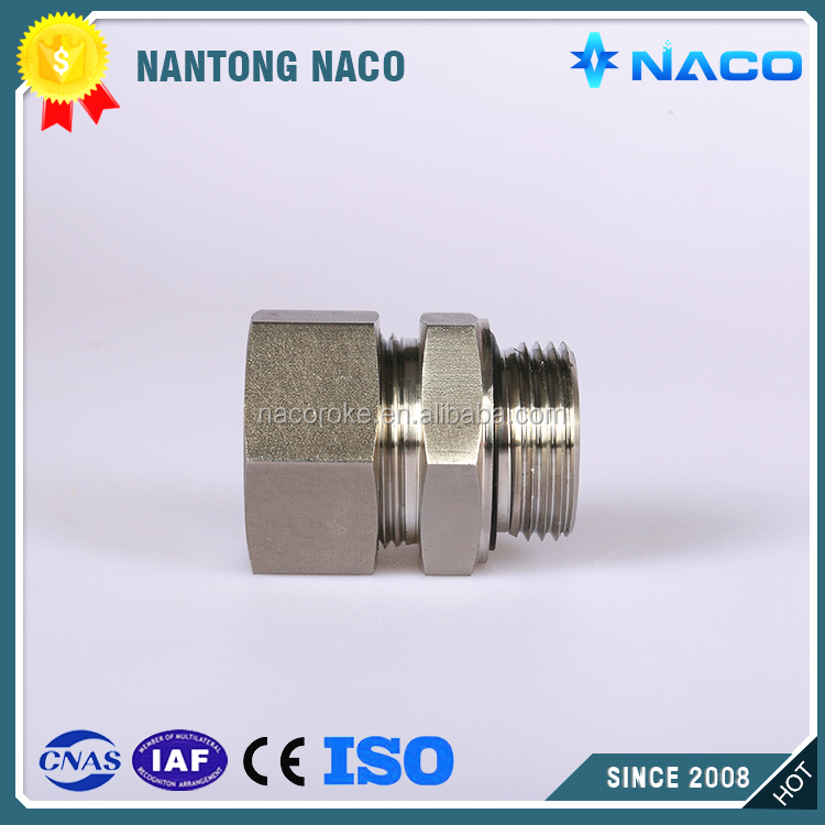 Carbon Steel Straight Pipe Fittings Male Threaded Coupling