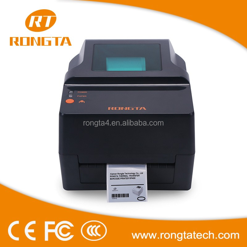 108mm Direct Thermal Wholesale Manufacture Thermal Transfer Bar code Clothing Care Label Printer