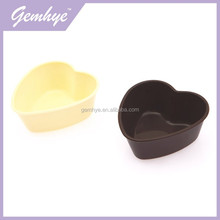 Hot Sale New Design Heart Shape LFGB/LFGB Silicone Cupcake Pan