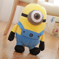 40cm cartoon minion plush toys / cartoon soft stuffed Despicable me minion plush