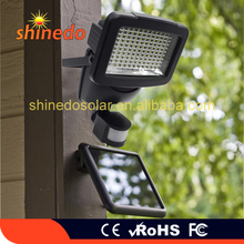 Top Sell 120LED Outdoor Solar Powered Security Garden Light with Motion Sensor
