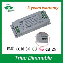 constant current 1500ma transformer 45-60w led driver triac dimmable 30-42Vdc