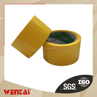 bopp Normal Clear Adhesive Circle Tape With Company Logos And Lables