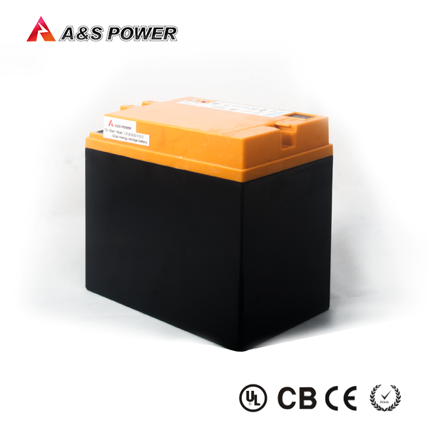 Rechargeable 26650 4S20P 12v 60ah lifepo4 battery with case for solar storage