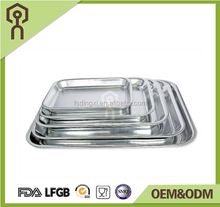 High quality large size food foil aluminum tray