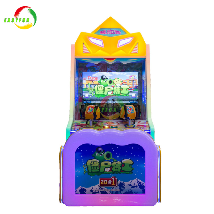 High Quality Balls Shooting Zombie Coin Operated Video Arcade Game Machine