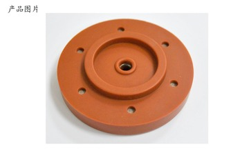 silicone rubber part inserted with metal