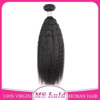 Ms Lula hair New Arrival yaki straight virgin brazilian hair from guangzhou vendors
