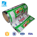 SAFTY FOOD GRADE plastic pvc metallized film for food packaging