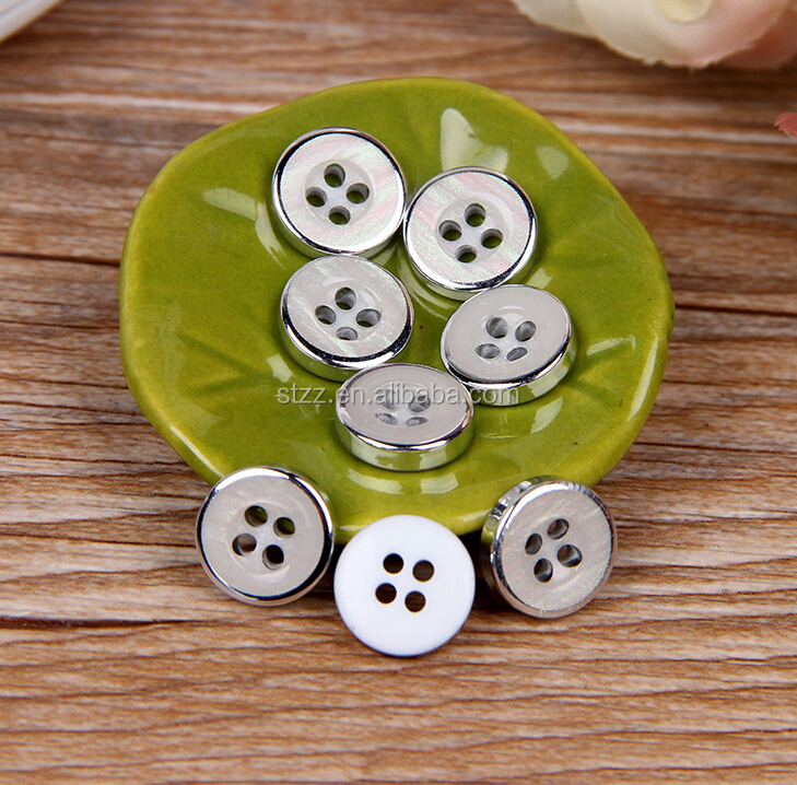 4 Holes resin button for clothing sew on resin shirt button