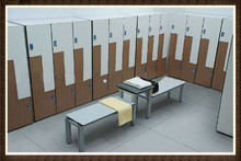 HPL Wood Laminate High Quality Shopping Mall Lockers