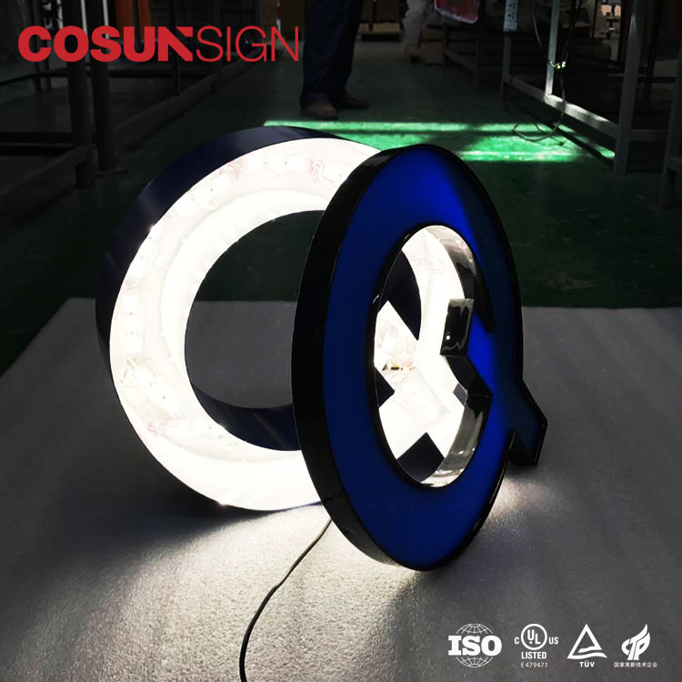Cosun Sign Outdoor use estate LED large building letters convenient for maintenance