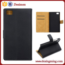 new stylish flip cover case for XIAOMI MI3 leather case