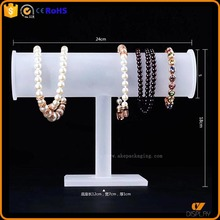 customized wholesale acrylic T bar bracelet display stand