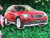 China Manufacturer cheap car shape custom fridge magnet