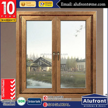 import aluminium casement window with blind inside double glass bathroom window styles alibaba china