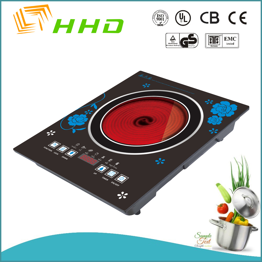 unique design single burner 2000w Infrared Cooker Price