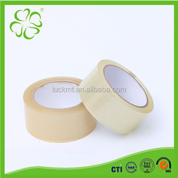 Water Based Acrylic Bopp Adhesive 48mm Clear Carton Sealing Tape