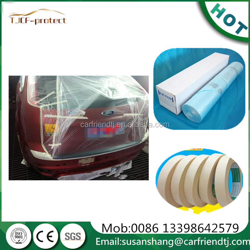 auto detailing products masking film 16*350ft masking film for painting protect